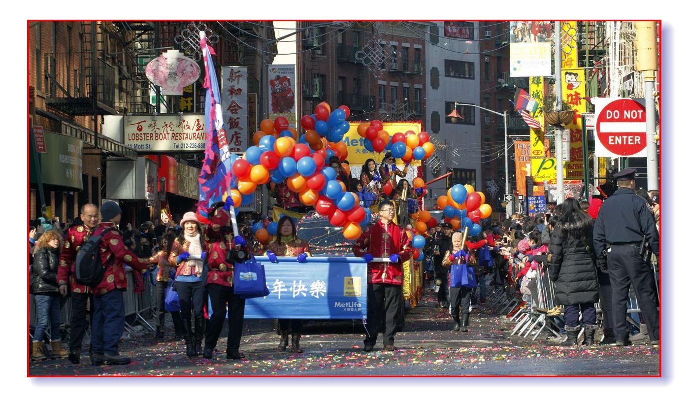 雪后天晴精神爽 华埠游行庆新春_图1-12