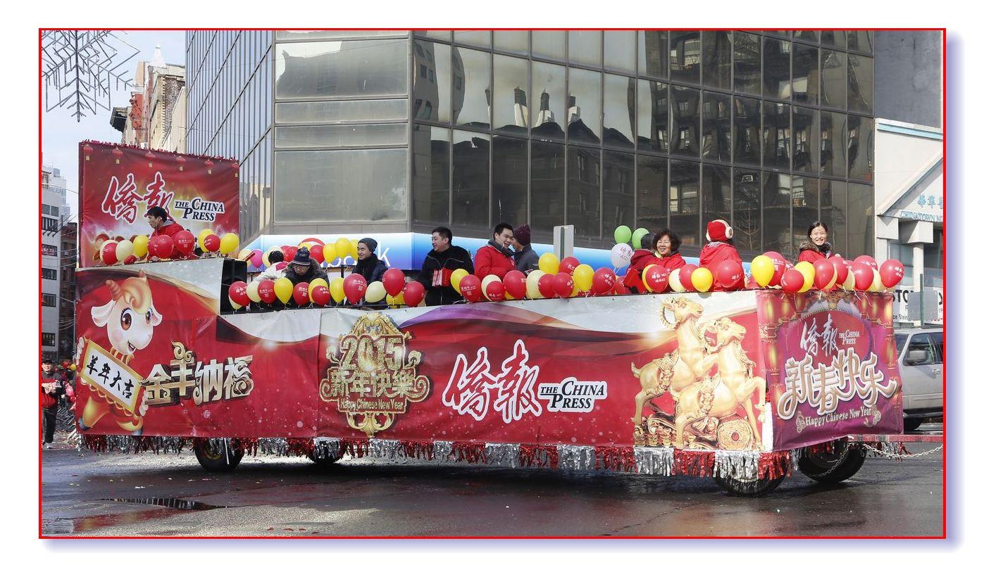 雪后天晴精神爽 华埠游行庆新春_图1-28