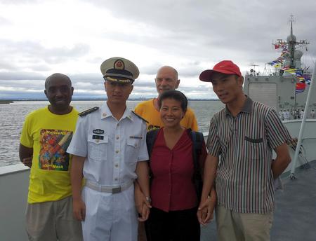"""莫桑比克囯会教授英语,她是""""中国第一人""""     (夏中华)_图1-17"""