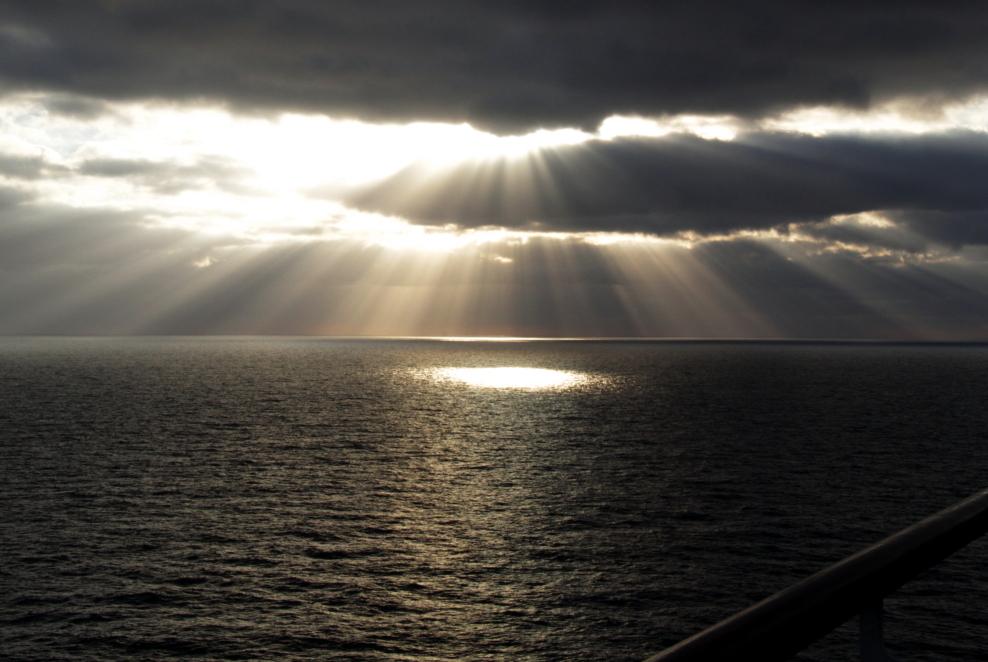 加勒比海暮色和落日_图1-3