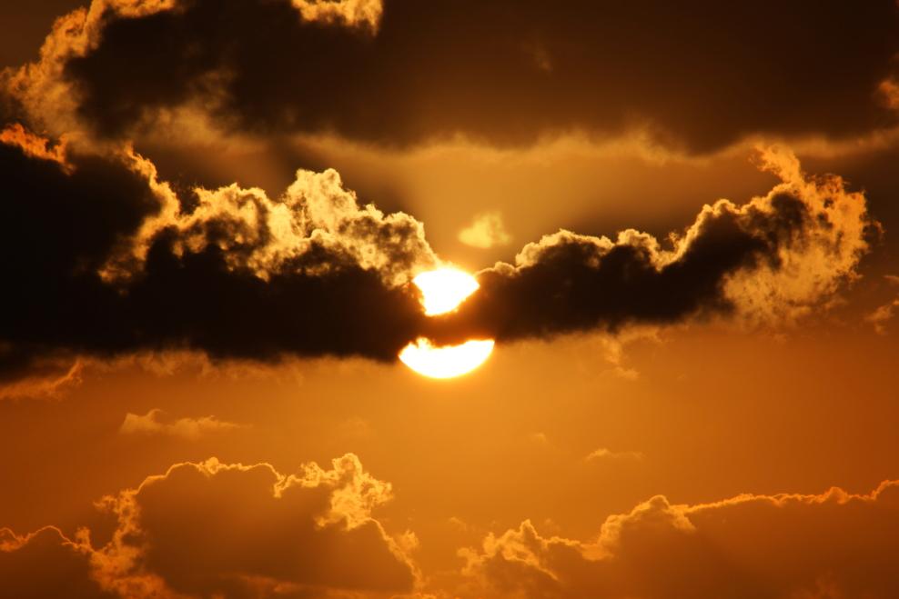 加勒比海暮色和落日_图1-15