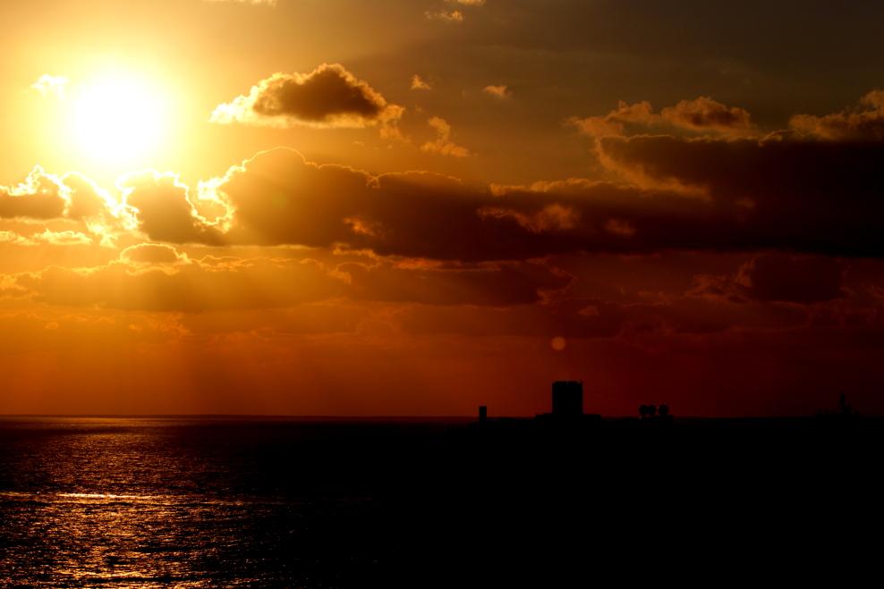 加勒比海暮色和落日_图1-16