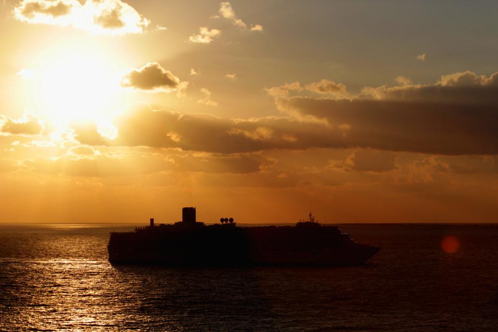 加勒比海暮色和落日_图1-17