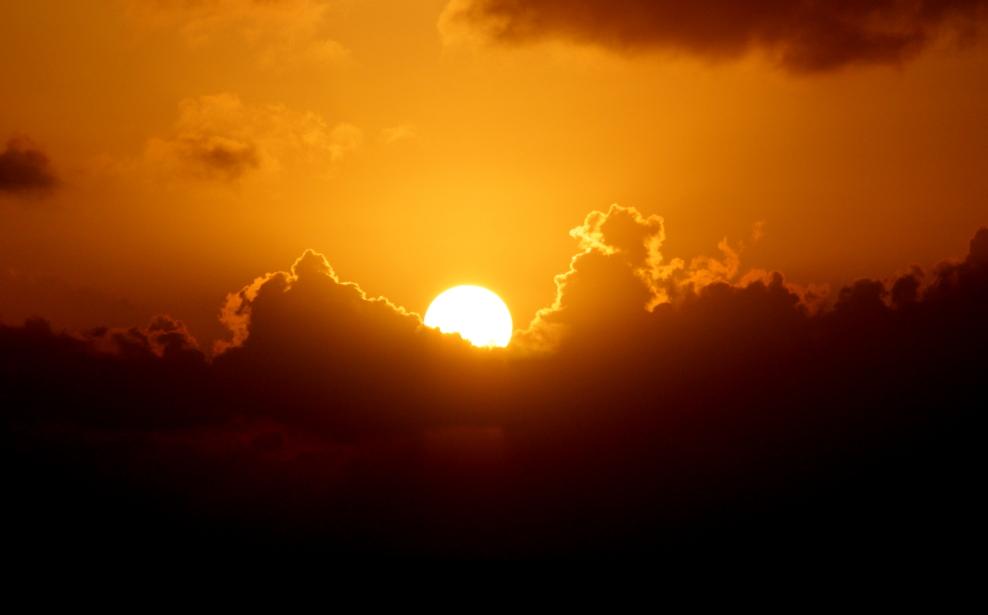 加勒比海暮色和落日_图1-20