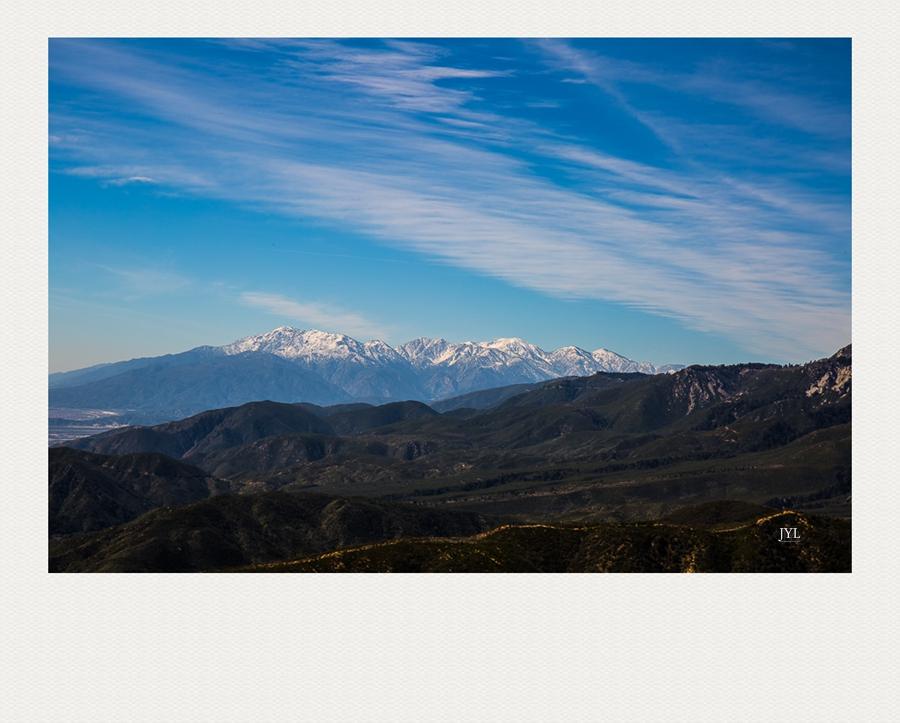 边走边拍,山上看雪_图1-3