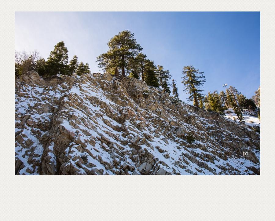 边走边拍,山上看雪_图1-4