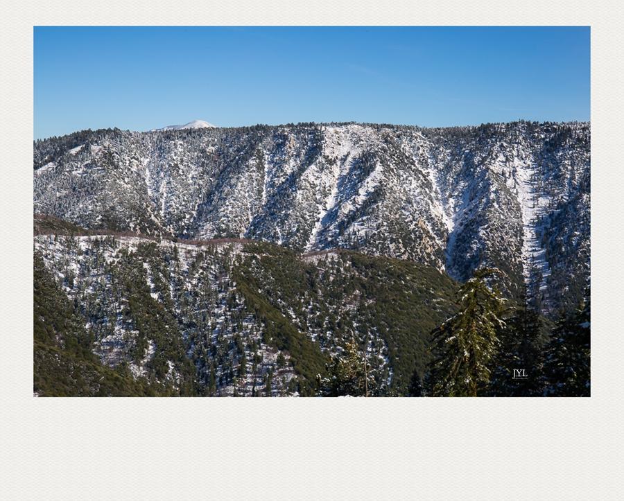 边走边拍,山上看雪_图1-6