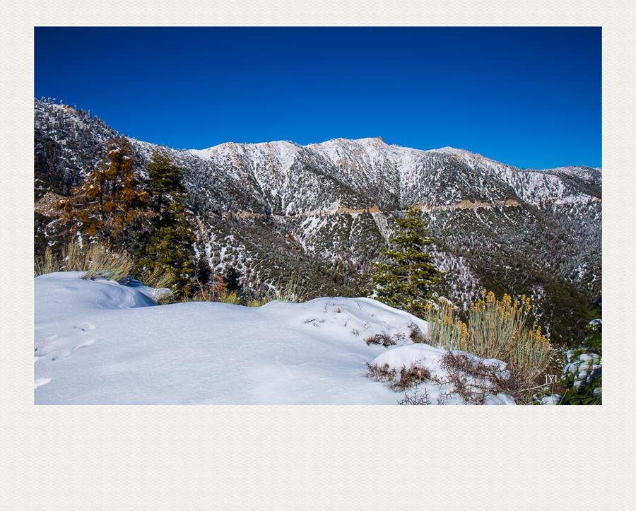 边走边拍,山上看雪_图1-7