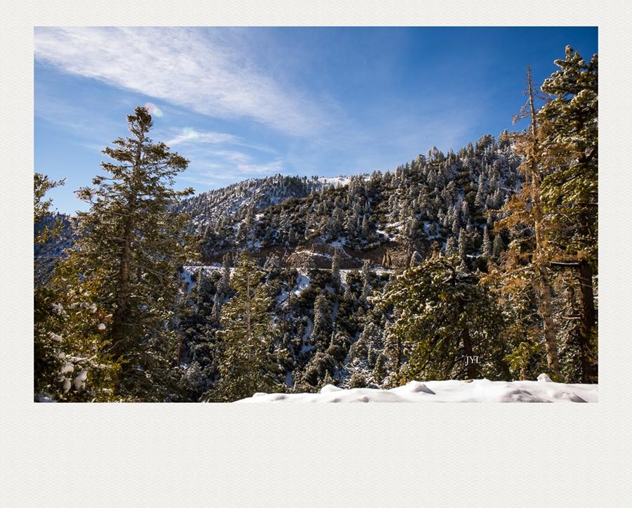 边走边拍,山上看雪_图1-8