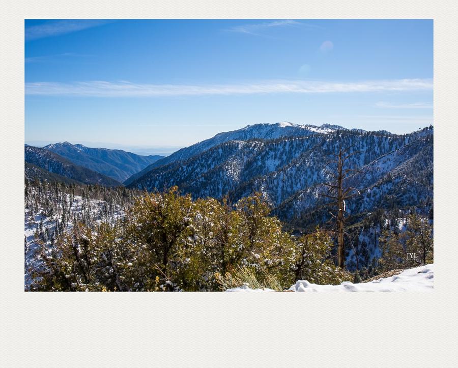 边走边拍,山上看雪_图1-9