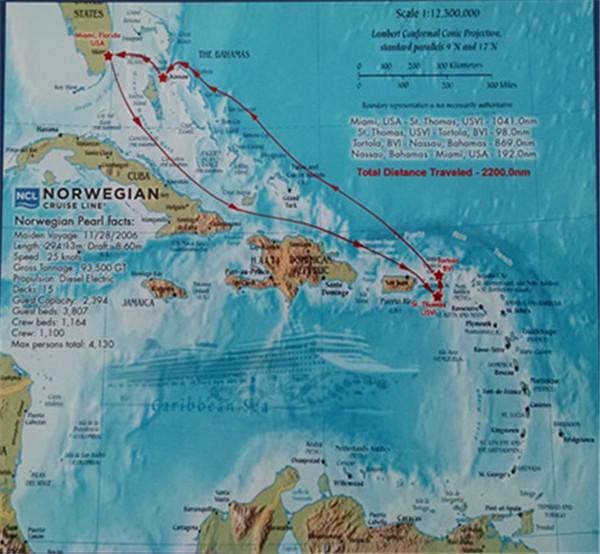 迈阿密至巴哈马----邮轮之旅(四)_图1-1