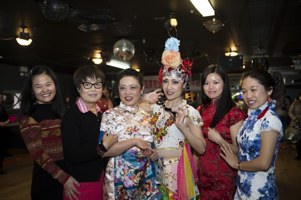中国旗袍会纽约分会2015年迎春联欢会_图1-5