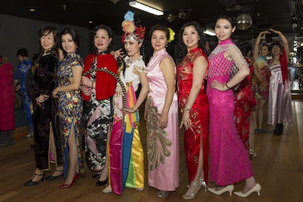 中国旗袍会纽约分会2015年迎春联欢会_图1-6