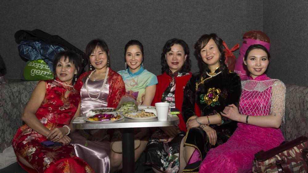 中国旗袍会纽约分会2015年迎春联欢会_图1-7