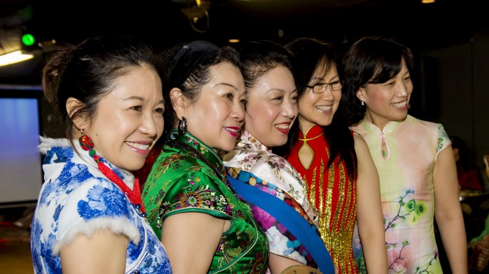中国旗袍会纽约分会2015年迎春联欢会_图1-8