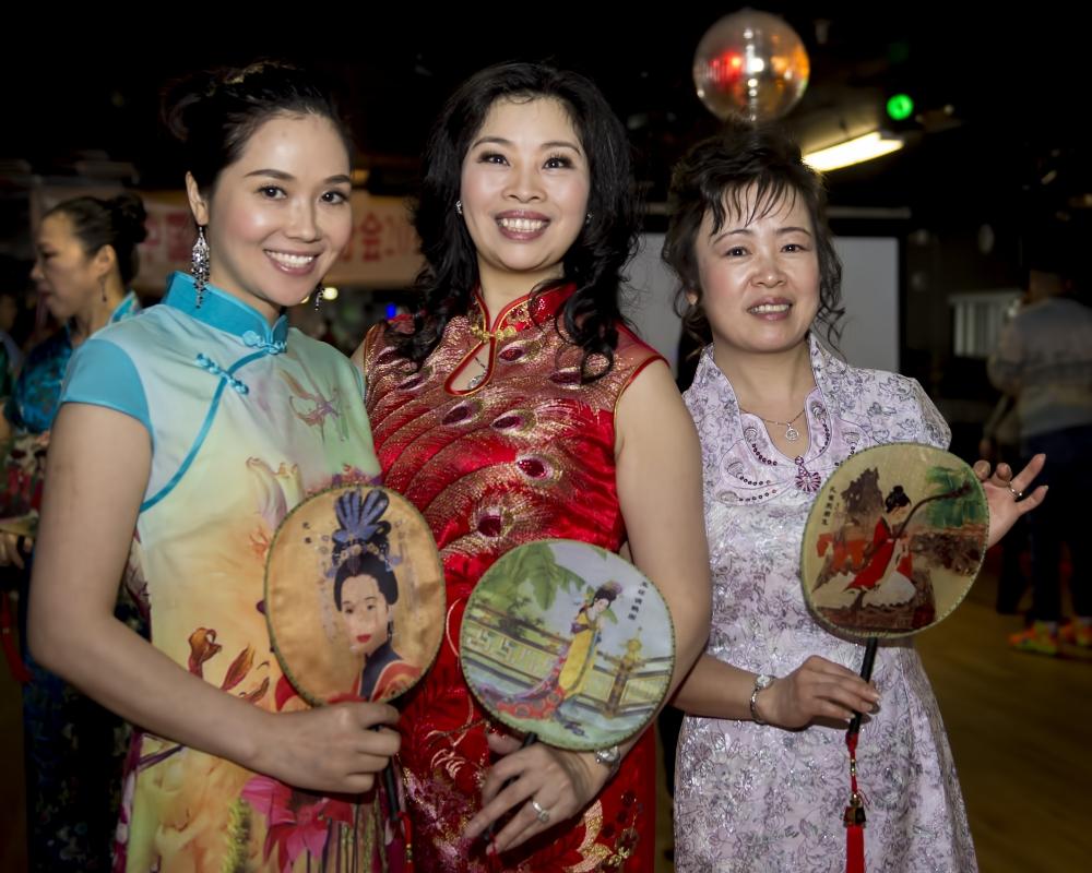 中国旗袍会纽约分会2015年迎春联欢会_图1-9