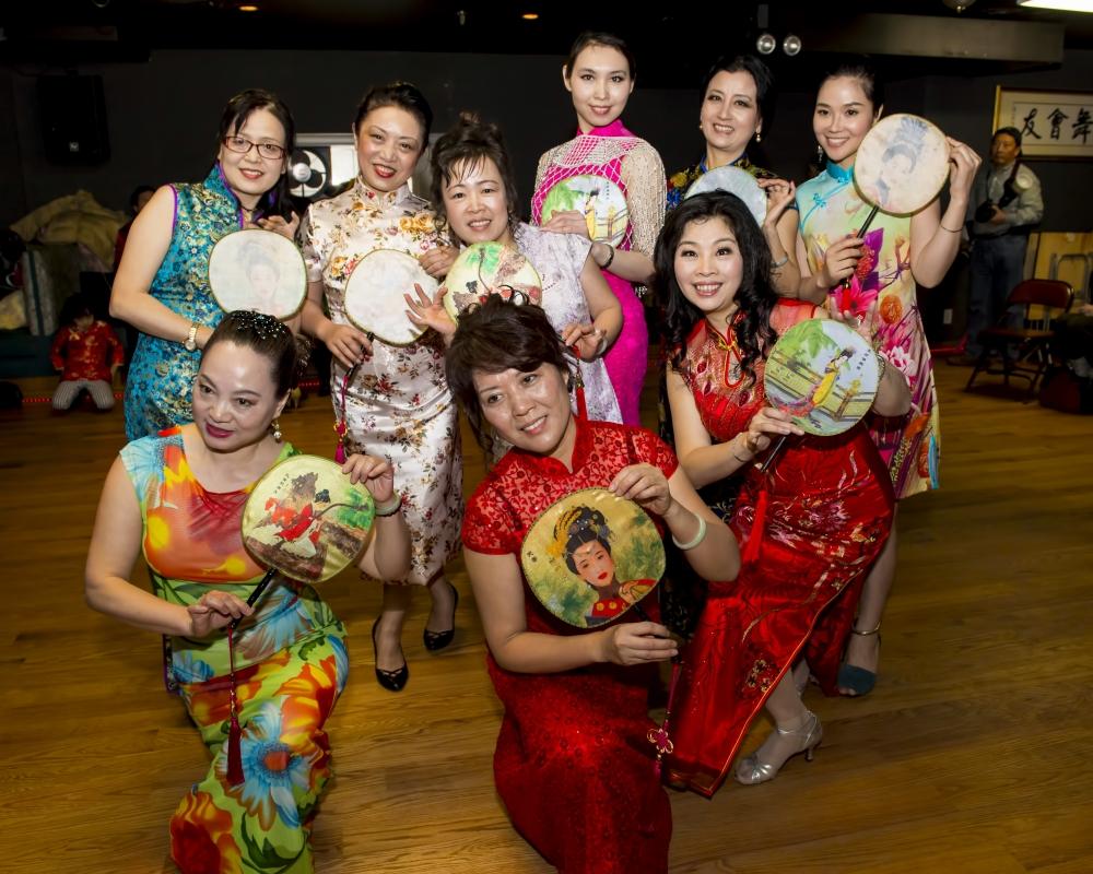 中国旗袍会纽约分会2015年迎春联欢会_图1-10