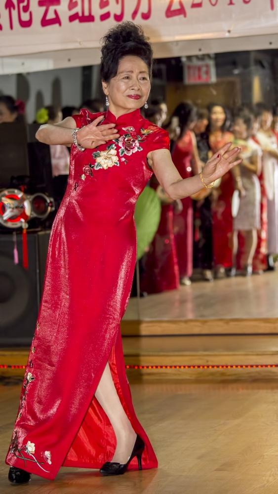 中国旗袍会纽约分会2015年迎春联欢会_图1-12