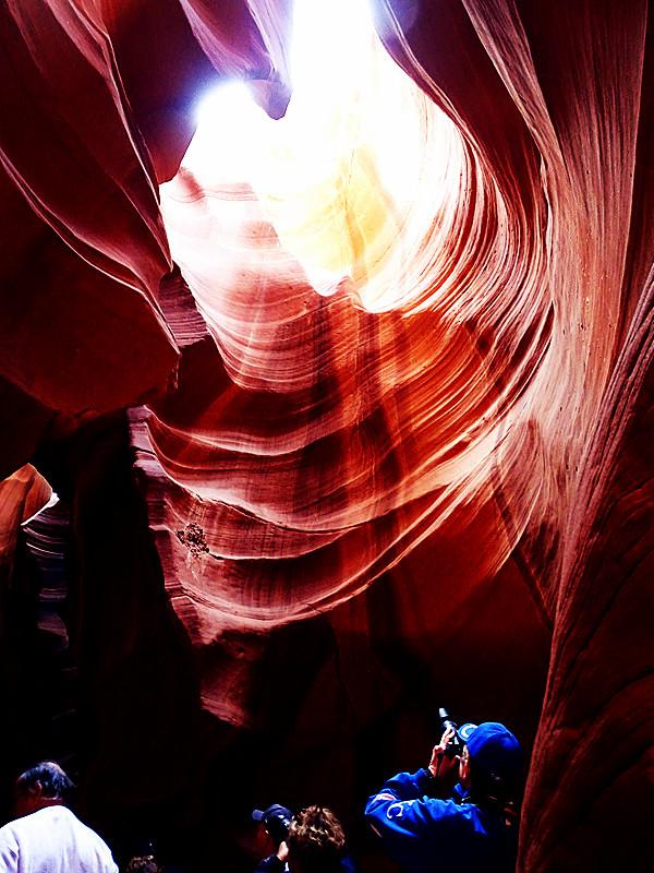 卡机随拍 奇妙的亚利桑那州羚羊峡谷_图1-12