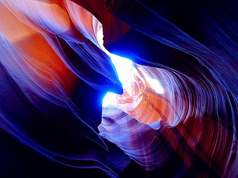 卡机随拍 奇妙的亚利桑那州羚羊峡谷_图1-1
