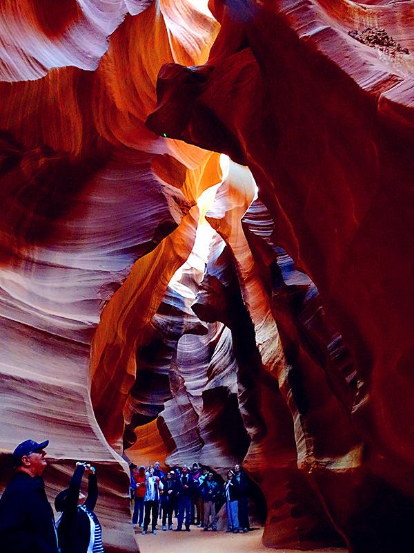 卡机随拍 奇妙的亚利桑那州羚羊峡谷_图1-2