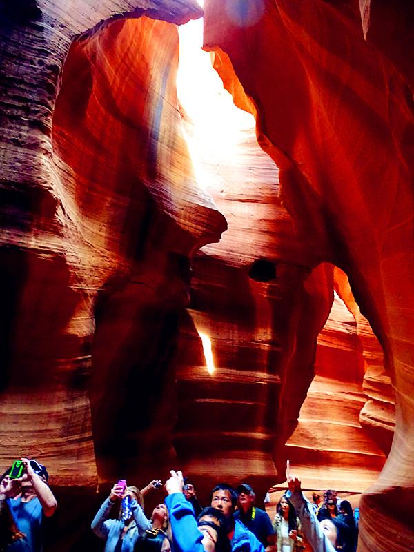 卡机随拍 奇妙的亚利桑那州羚羊峡谷_图1-6