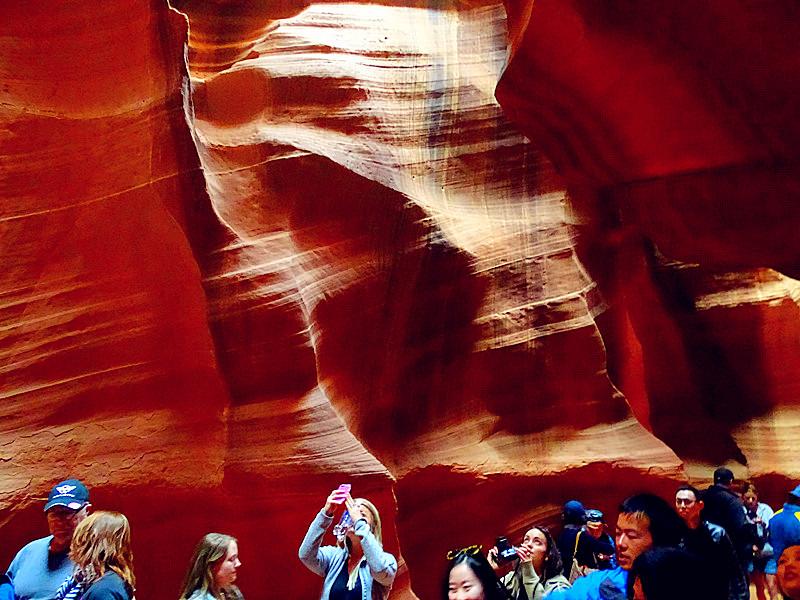 卡机随拍 奇妙的亚利桑那州羚羊峡谷_图1-17
