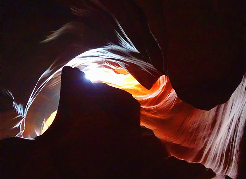 卡机随拍 奇妙的亚利桑那州羚羊峡谷_图1-18