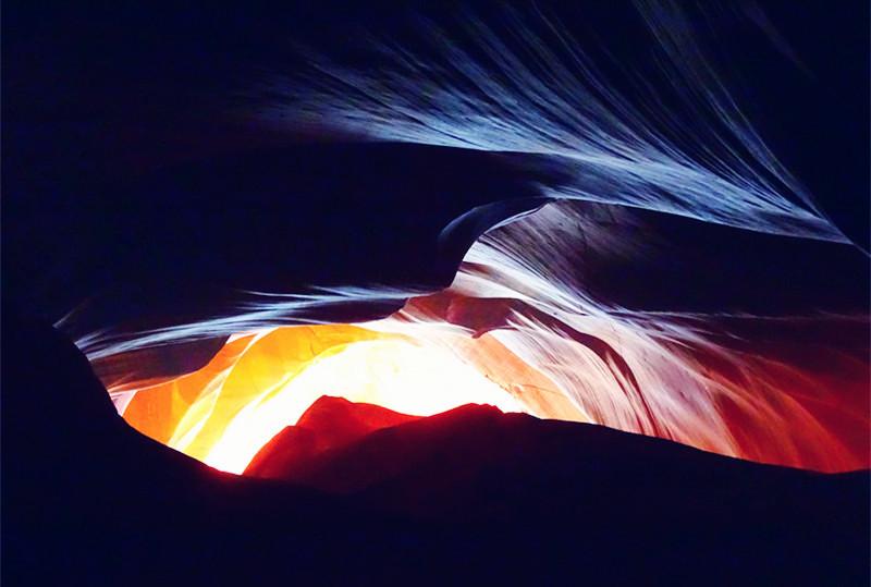 卡机随拍 奇妙的亚利桑那州羚羊峡谷_图1-8
