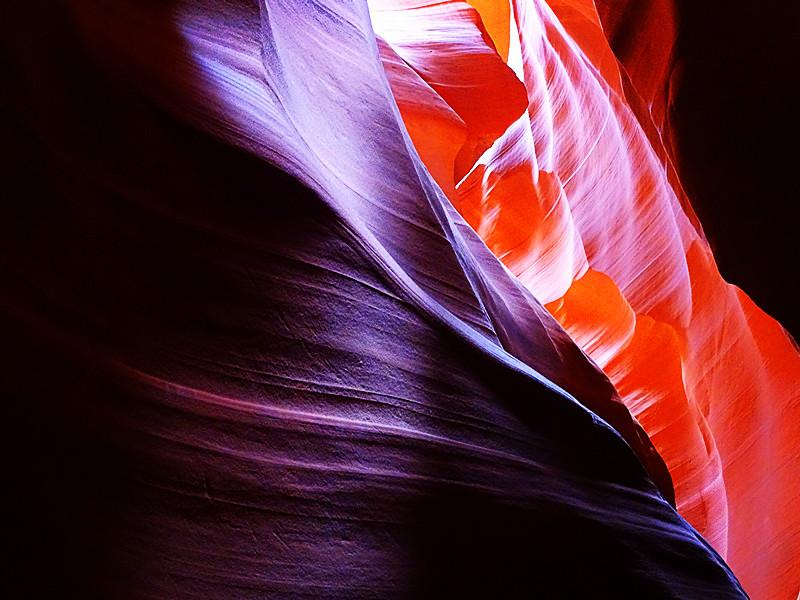 卡机随拍 奇妙的亚利桑那州羚羊峡谷_图1-7