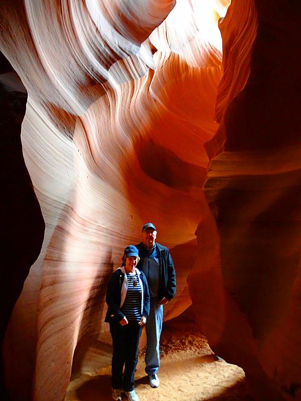 卡机随拍 奇妙的亚利桑那州羚羊峡谷_图1-21