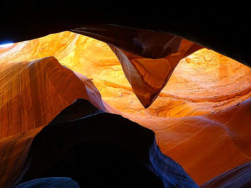 卡机随拍 奇妙的亚利桑那州羚羊峡谷_图1-10