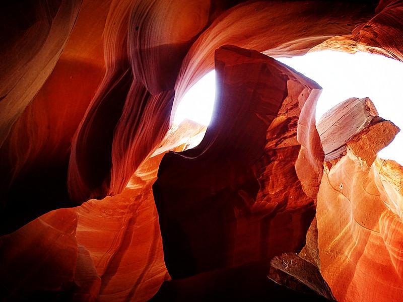 卡机随拍 奇妙的亚利桑那州羚羊峡谷_图1-16