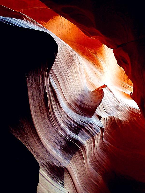 卡机随拍 奇妙的亚利桑那州羚羊峡谷_图1-4