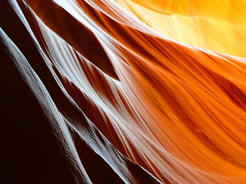 卡机随拍 奇妙的亚利桑那州羚羊峡谷_图1-26