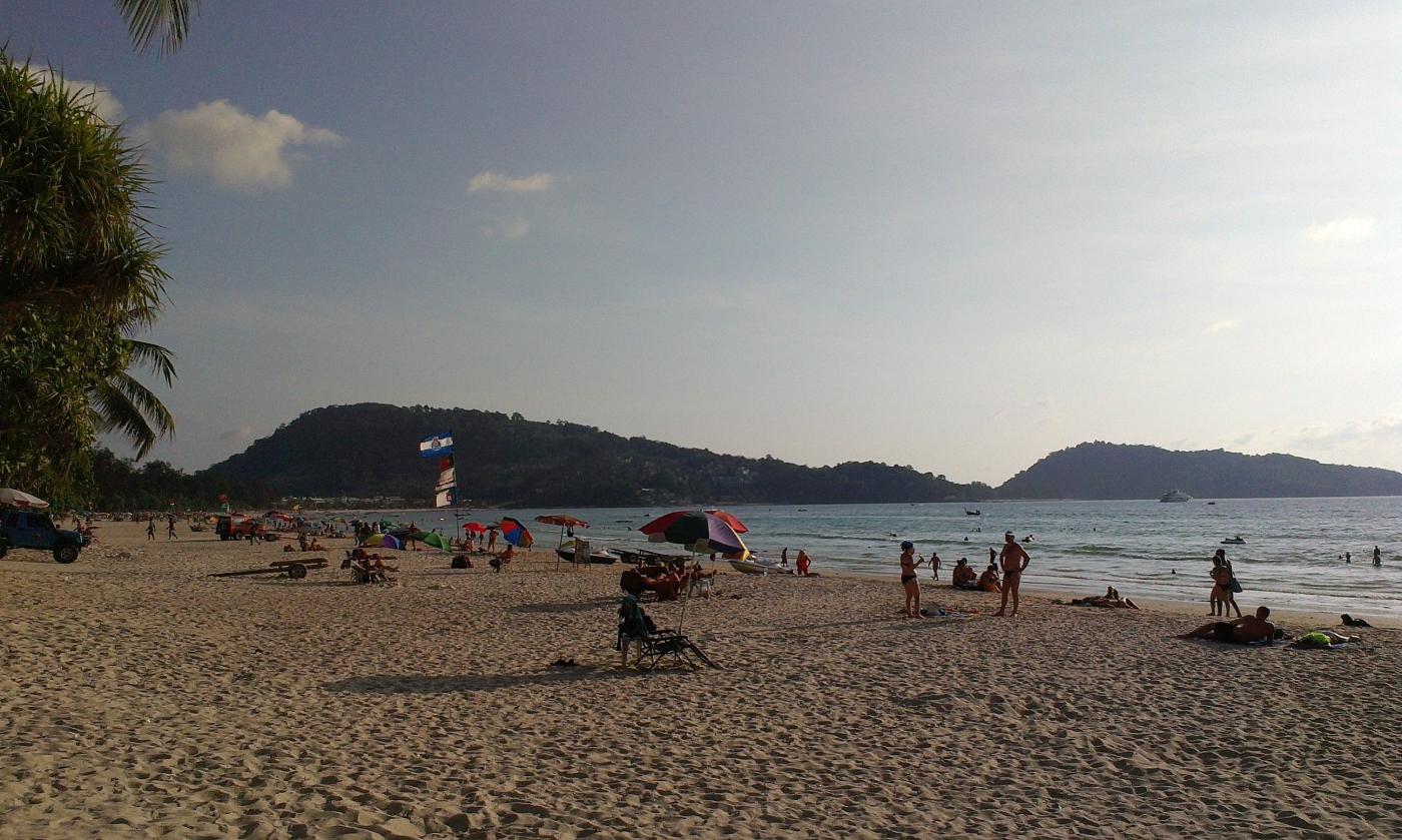 普吉岛.安达曼海边——卡隆海滩观日落_图1-2