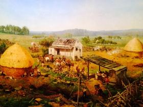 葛底斯堡战争全景油画