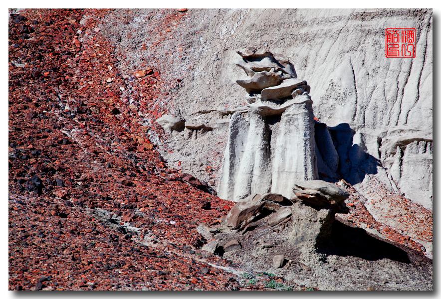 """《酒一船摄影》:惊艳北区""""必死台""""(Bisti Wilderness)_图1-28"""