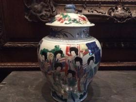 博物馆里的中国艺术品