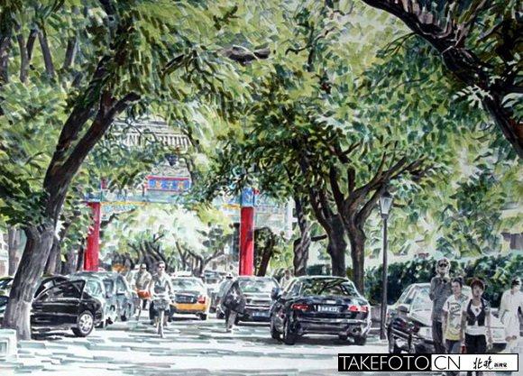 绘画北京的画家_图1-1