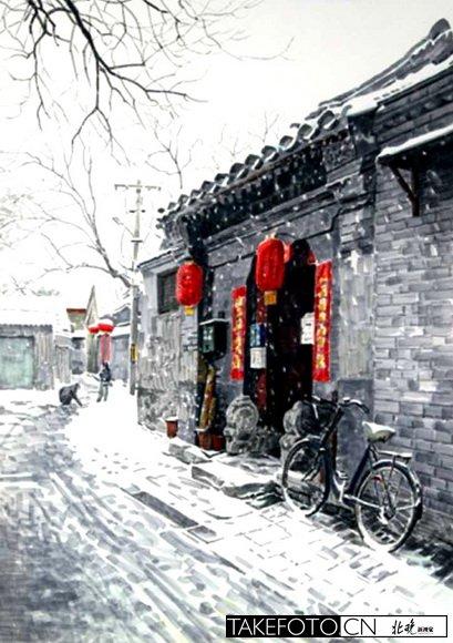 绘画北京的画家_图1-2