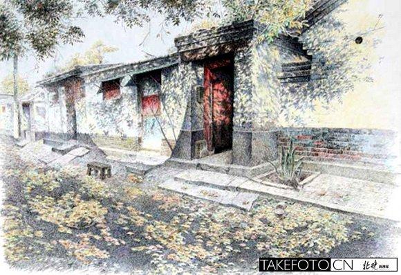 绘画北京的画家_图1-3