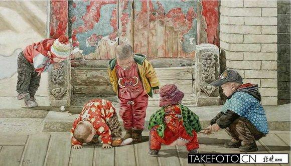 绘画北京的画家_图1-5