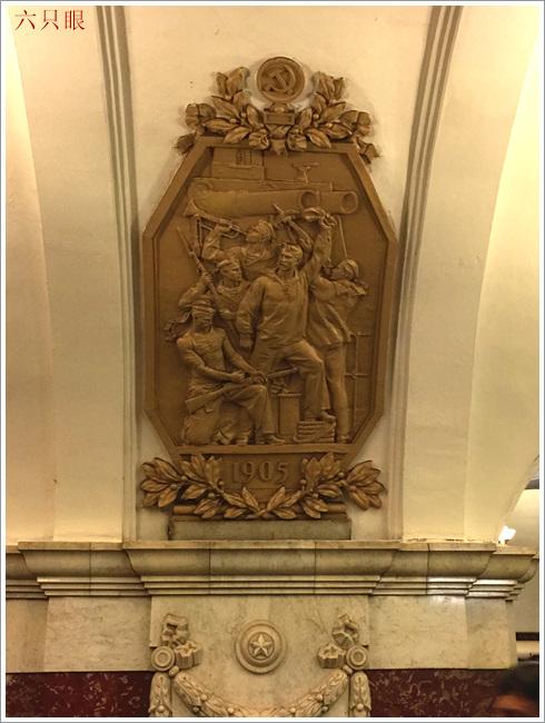 """六只眼:享有""""地下的艺术殿堂""""之美称的莫斯科地铁站_图1-13"""