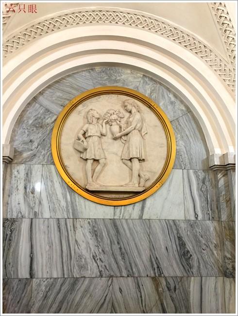 """六只眼:享有""""地下的艺术殿堂""""之美称的莫斯科地铁站_图1-9"""