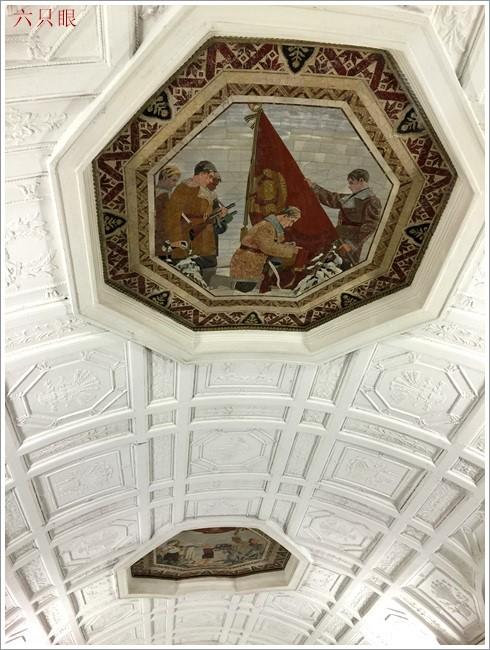 """六只眼:享有""""地下的艺术殿堂""""之美称的莫斯科地铁站_图1-10"""