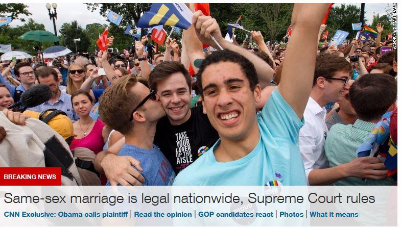 颤抖吧!美利坚!同性婚姻全美合法真不是他俩的事!_图1-1