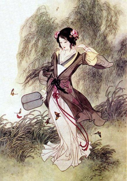 【晓鸣独创】简诗.春柳畔+指笔散构字/载图_图1-1