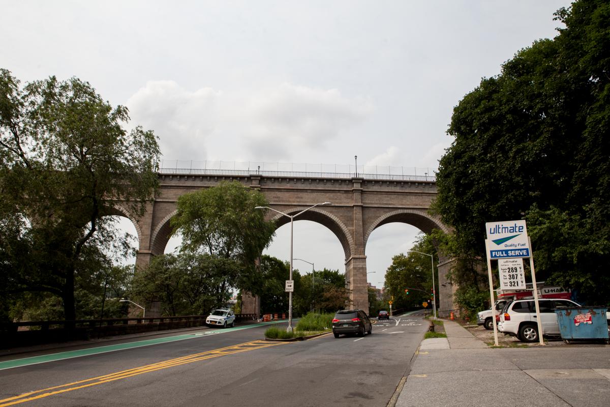 高桥公园看高桥150702