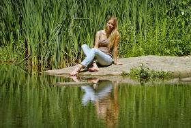 【田螺摄影】享受夏天的波兰女孩Aleksandra